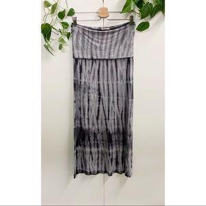 Roxy Tie Dye Maxi Skirt